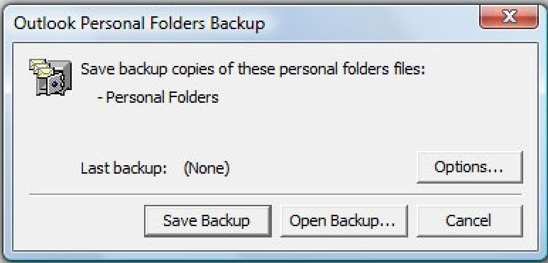 Save Backup