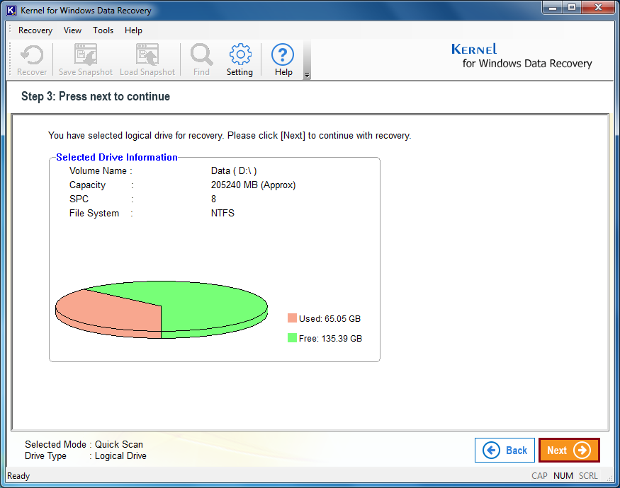 show hard drive information