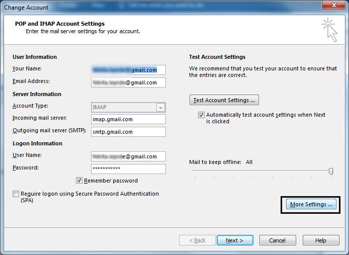 How to resolve IMAP error – 0X800CCC0E?