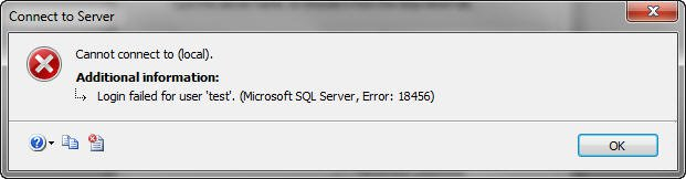 How to resolve the login failure SQL Server error code – 18456