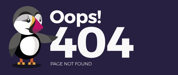 404 Page Loading Error