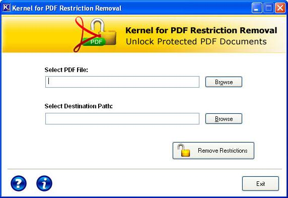 PDF Restriction Removal