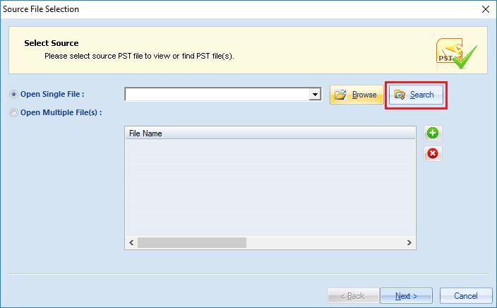 access PST file