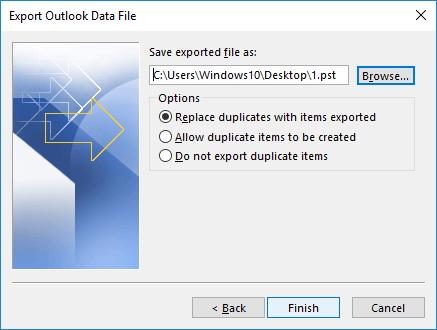 select file saving location