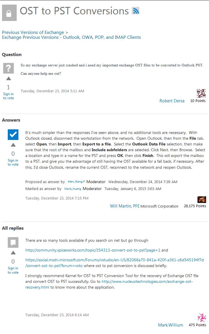 TechNet Expert Reviews