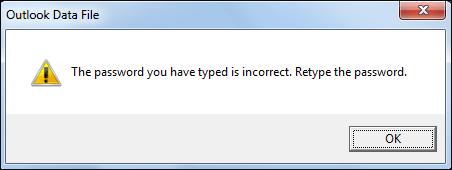 Retype the password.