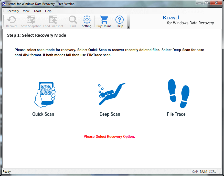 How to Recover Deleted/Lost Files Free?