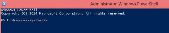 Launch PowerShell cmdlet as Administrator