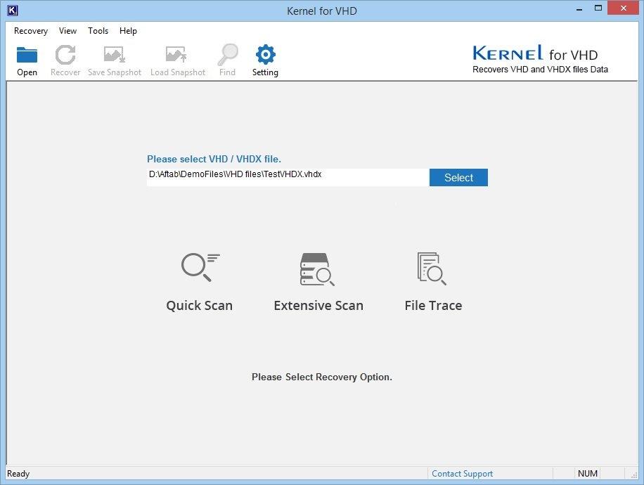 Select VHD/VHDX file