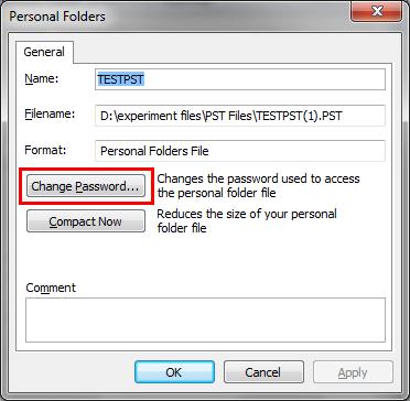 choose change password