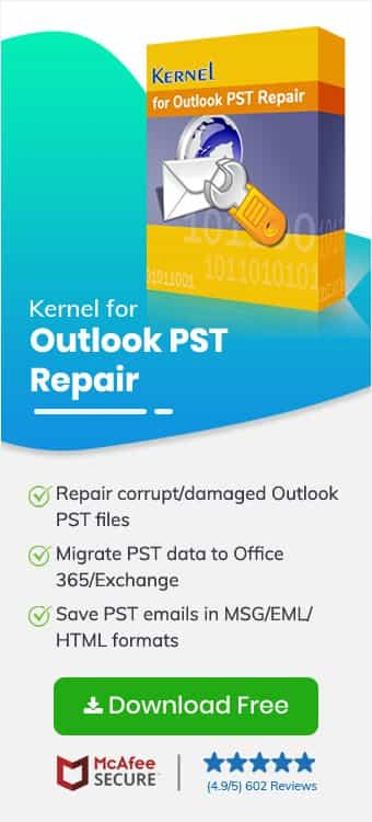 """Fixing """"0x80004005: The operation failed"""" error in MS Outlook"""