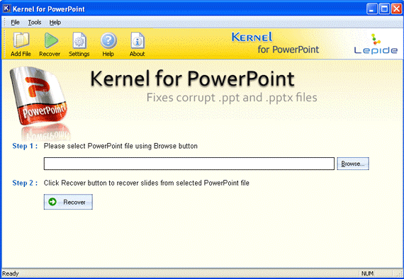 Retrieve complete data of a PPT file