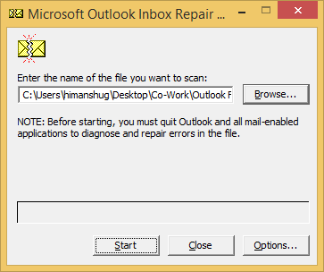 "Fix ""The Set of Folders Cannot be Opened"" Error in Outlook 2016"