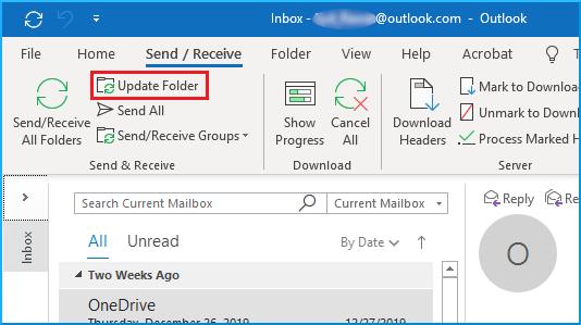 Update Folder