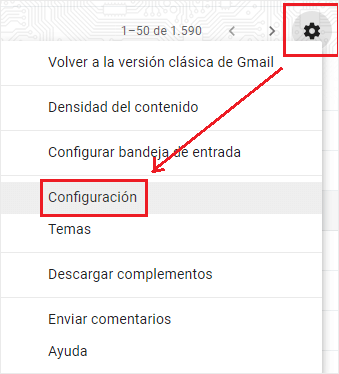 Access Settings for configuration