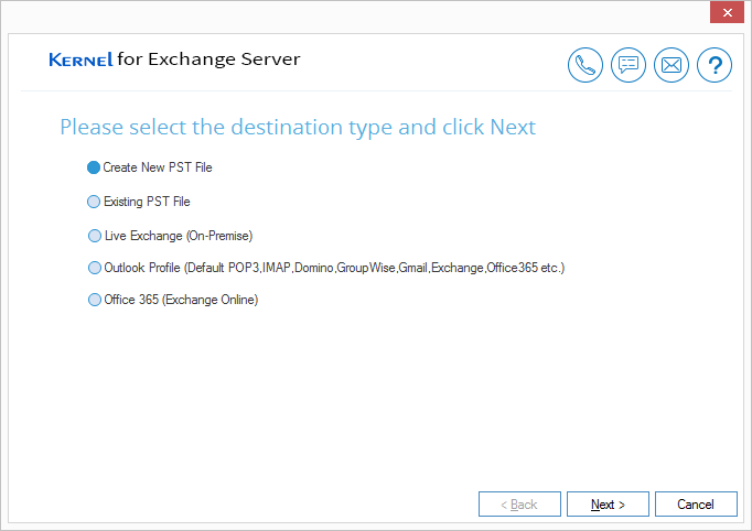 Create New PST file