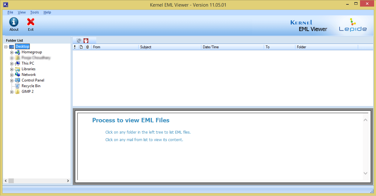 Launch Free EML Viewer Tool