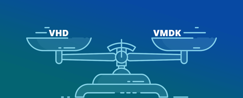Difference Between VHD and VMDK Files