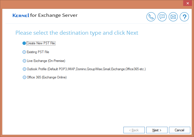 save in an existing PST file