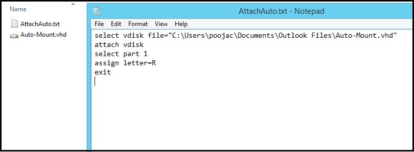 Open VHD/VHDX file