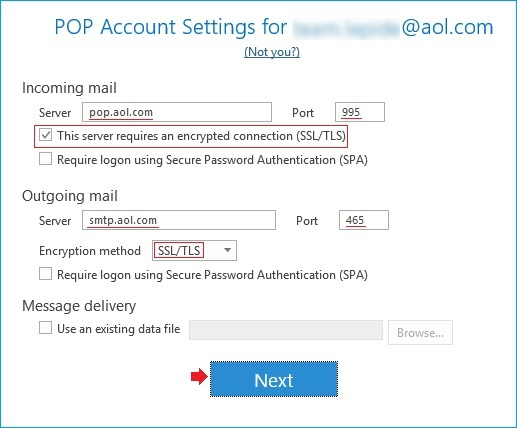 How to Access AOL Email Account in Outlook?