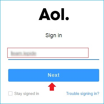 sign-in again