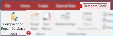 Compact and Repair Database
