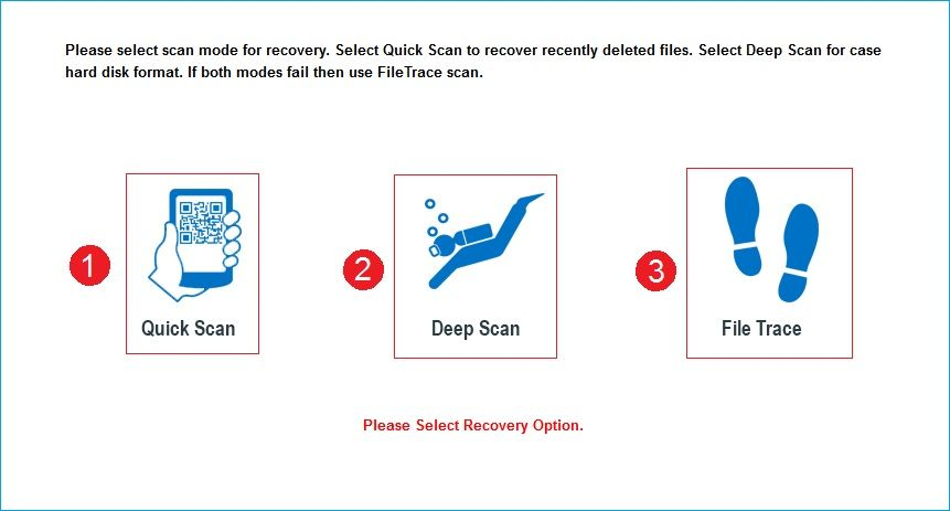 Open Windows Data Recovery tool