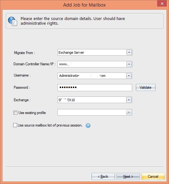 Enter Source Domain