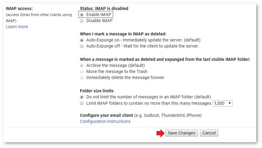 How to Sync Gmail with MS Outlook?