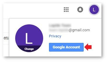 Gmail Account profile
