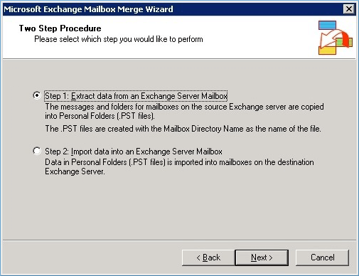 Extract data from an Exchange Server Mailbox