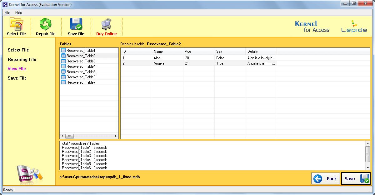 Fix Access Database Unrecognized Format Error