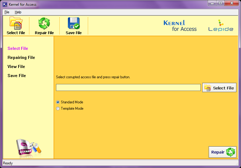 Repair Microsoft Access database