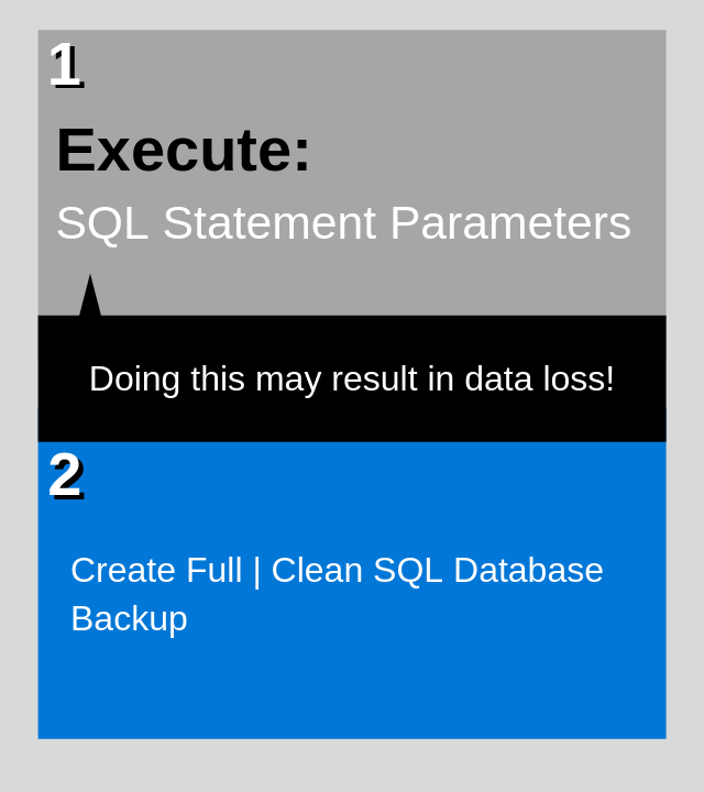 Execute statement
