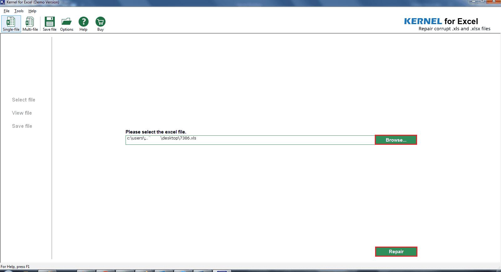 excel 2007 file repair software free download