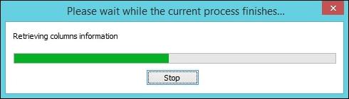 Scanning process