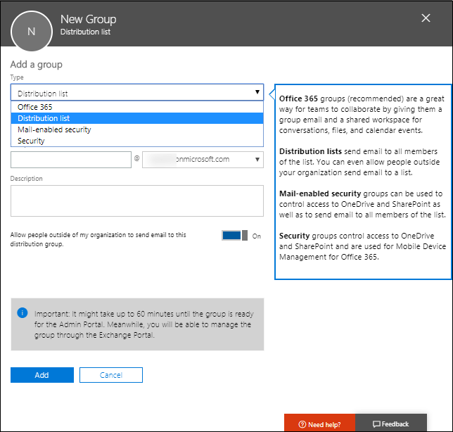 Learn How to Create Distribution List in Office 365
