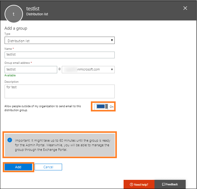 allow/disallow external users
