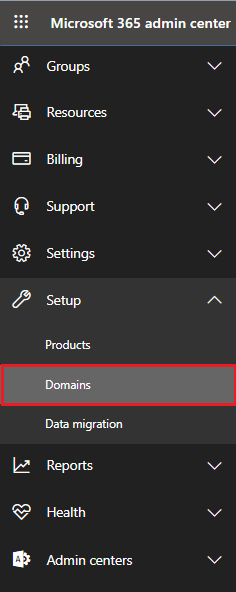 Log in to Exchange Admin Center