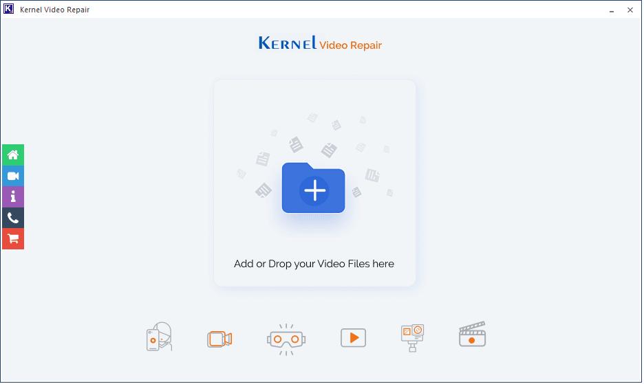 Download and install Kernel Video repair tool