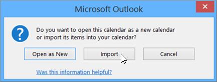 Click Import option