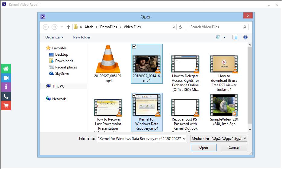 Repair the corrupt video