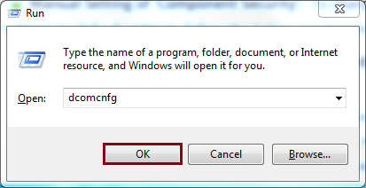 launch the Run Command dialog box