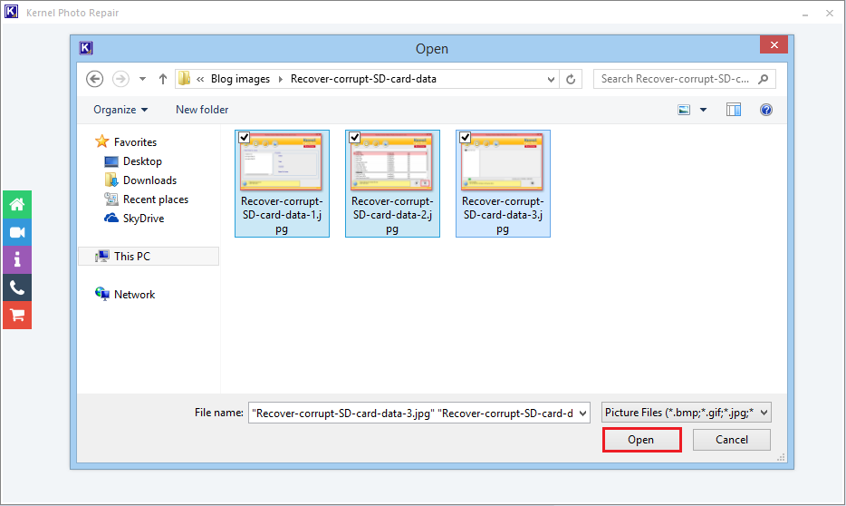 corrupted jpeg file recovery software free download