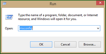 select Run