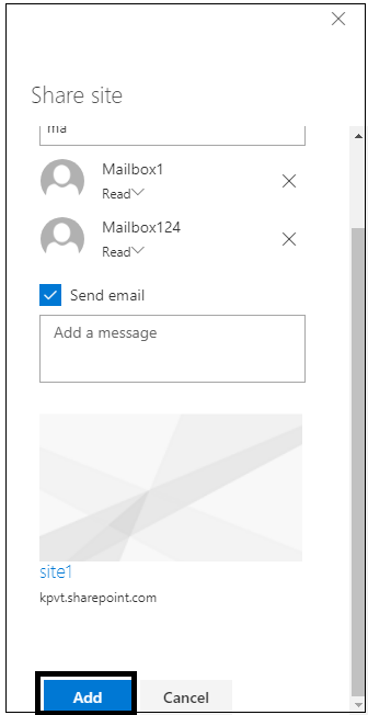 adding to the SharePoint Site
