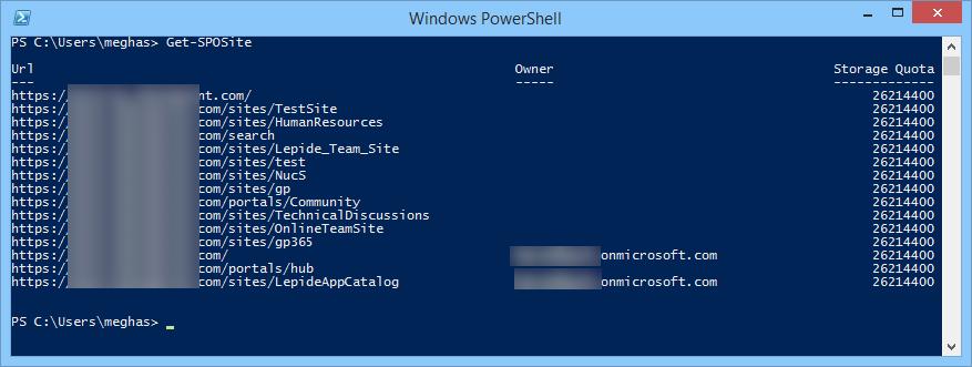 SharePoint Online to Windows PowerShell