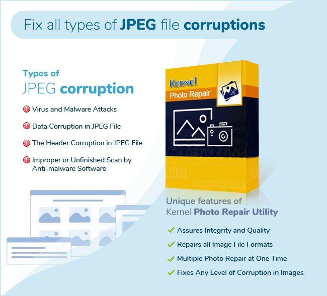 JPEG related data corruption