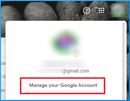 Manage Google Account